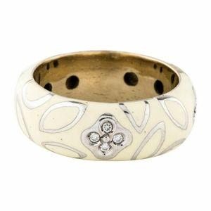 La Nouvelle Bague 18k & Diamond Ring Size 6